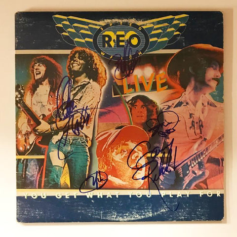 "REO Speedwagon ""You Get What you Play For"" Album"