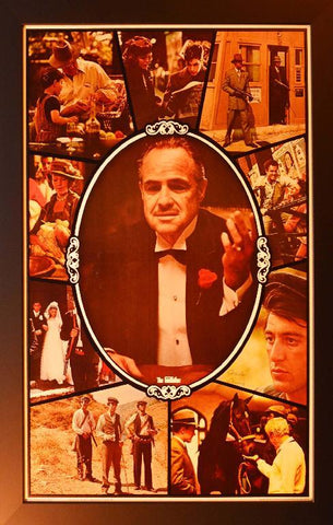 The Godfather (Marlon Brando) Poster