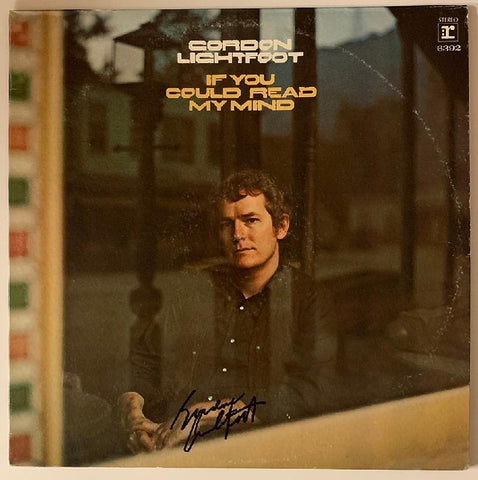 "Gordon Lightfoot ""If You Could Read My Mind"" Album"