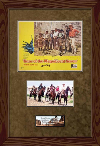 Guns of the Magnificent Seven Card