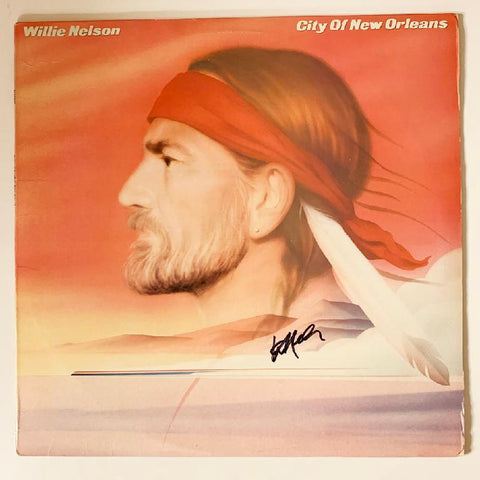 Willie Nelson City of New Orleans Album