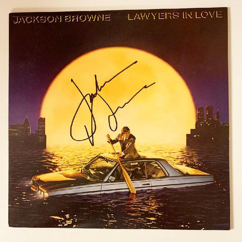 "Jackson Browne ""Lawyers in Love"" Album"