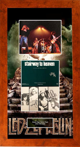 "Led Zeppelin ""Stairway to Heaven"" Music Sheet"