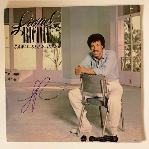 "Lionel Richie ""Can't Slow Down"" Album"