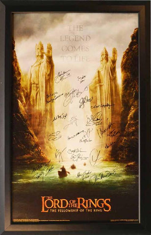 "The Lord of the Rings ""The Fellowship of the Ring"" Poster"