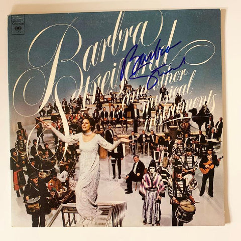 "Barbra Streisand ""...and Other Musical Instruments"" Album"
