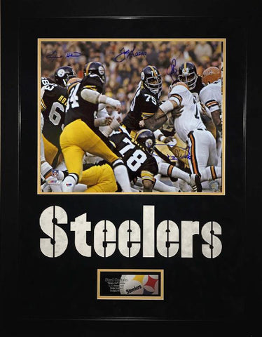 Pittsburgh Steelers Steel Curtain 16 x 20
