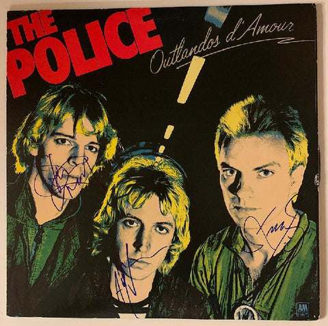 "Police Album""Outlandos d'Amour"""