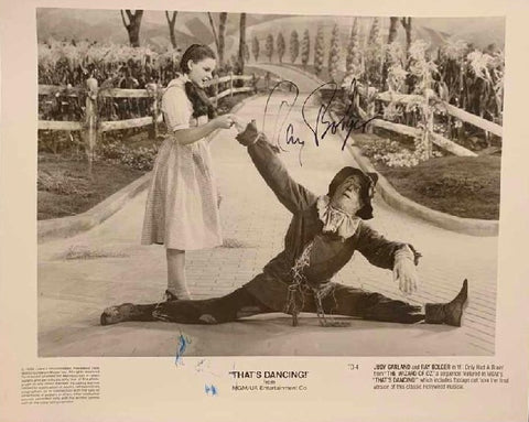 "Wizard of Oz ""Ray Bolger"" Photo"