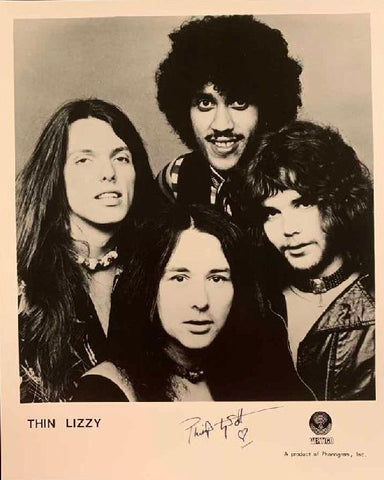 "Thin Lizzy ""Phil Lynott"" Photo"