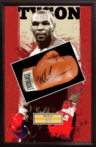 Mike Tyson Boxing Glove