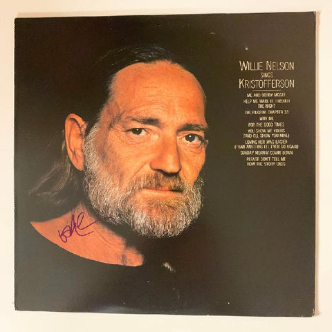 "Willie Nelson Album ""sings Kristofferson"""
