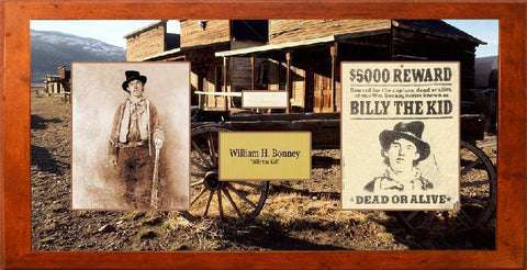 "William H. Bonney ""Billy the Kid"" Signature Cut"