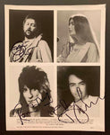 Ronnie Wood, Eric Clapton, Neil Diamond & Emmy Lou Harris Photo
