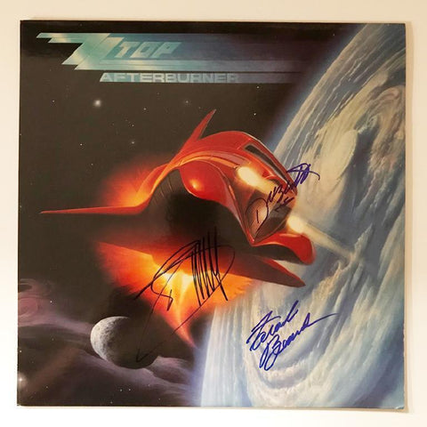 "ZZ Top ""Afterburner"" Album"