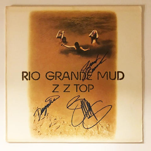 "ZZ Top ""Rio Grande Mud"" Album"