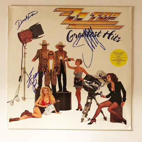 "ZZ Top ""Greatest Hits"" Album"