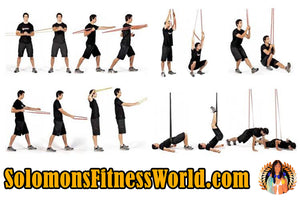 Fitness Level 4 Power Resistance Band