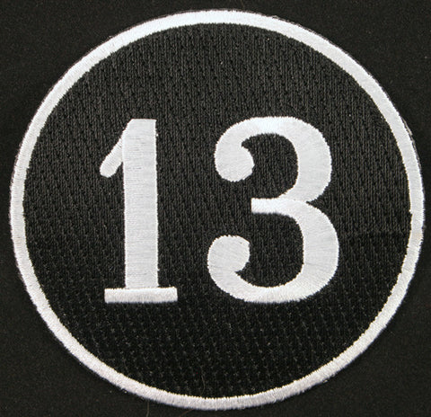 13 Iron on Patch
