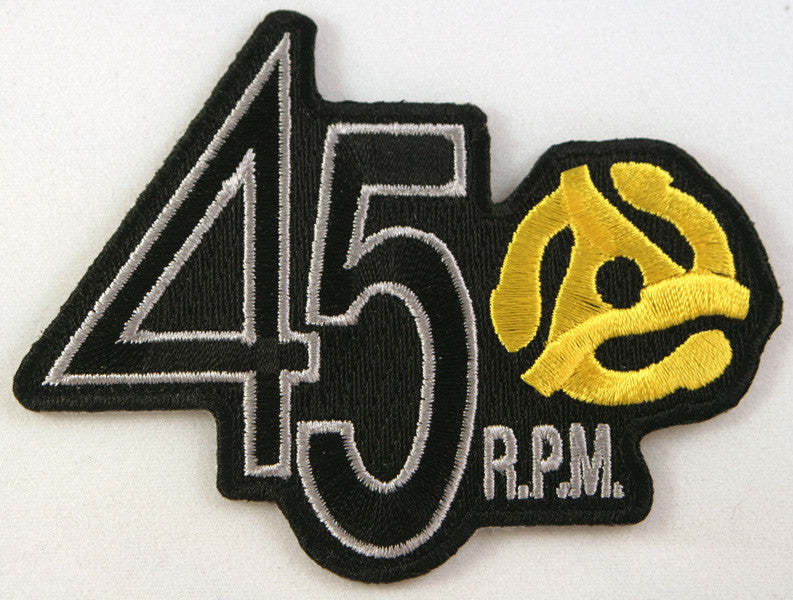 45 RPM Patch
