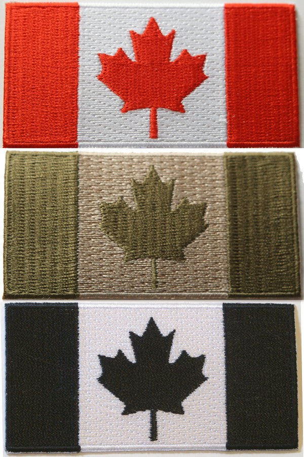 Canada Flag Patch 3 inch