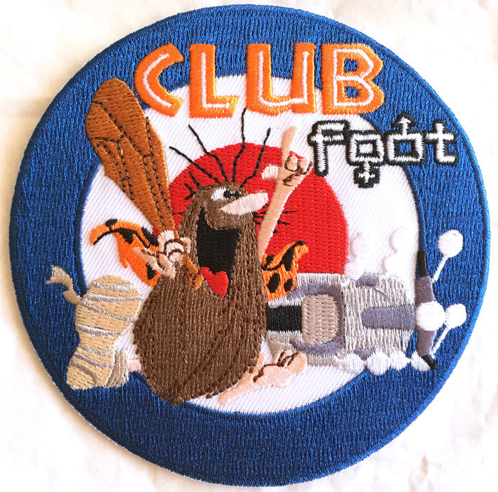 Club Foot Scooter Patch