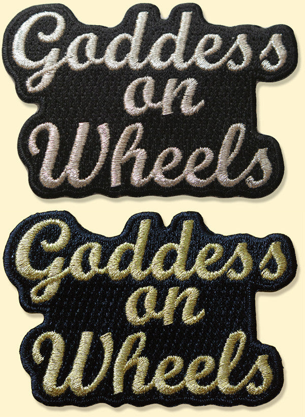 Goddess on Wheels Text