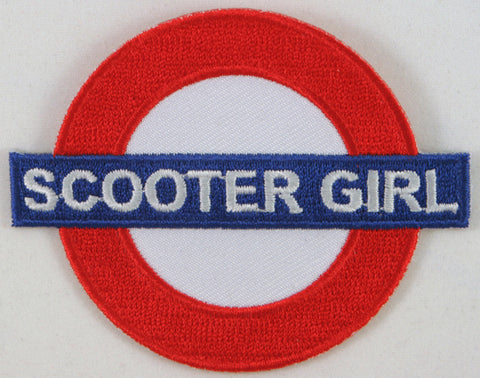 Scooter Girl Underground Patch