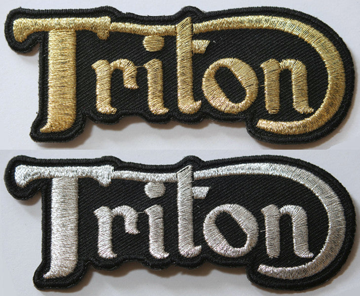 Triton Motorcycle Patch