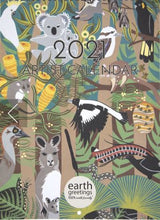 Load image into Gallery viewer, 2021 Earth Greetings Calendar