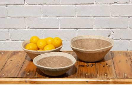 Jute Table Bowls