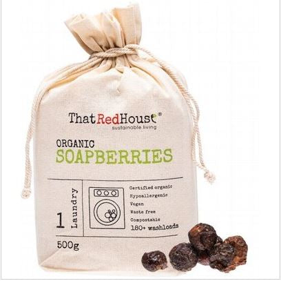 ORGANIC SOAPBERRIES-500g (180+ Washes) from That Red House