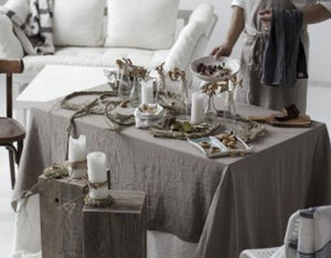 Organic Linen Tablecloth