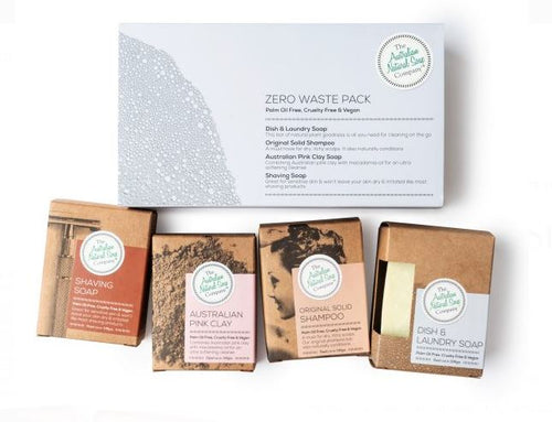 Zero waste soap pack