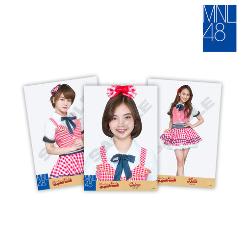 MNL48 Gingham Check Photocards