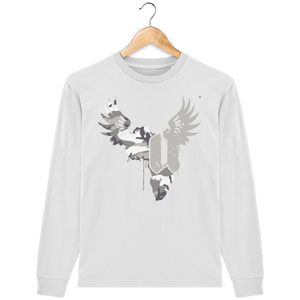 "Afreeka Map ""A"" Long-sleeved T-shirt #CamoExperience"