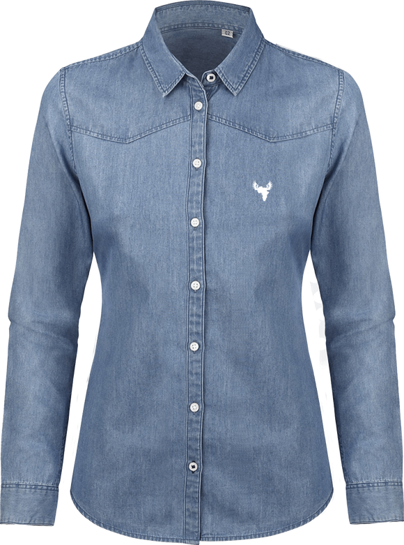 Afreeka Map - Shirt Women Denim