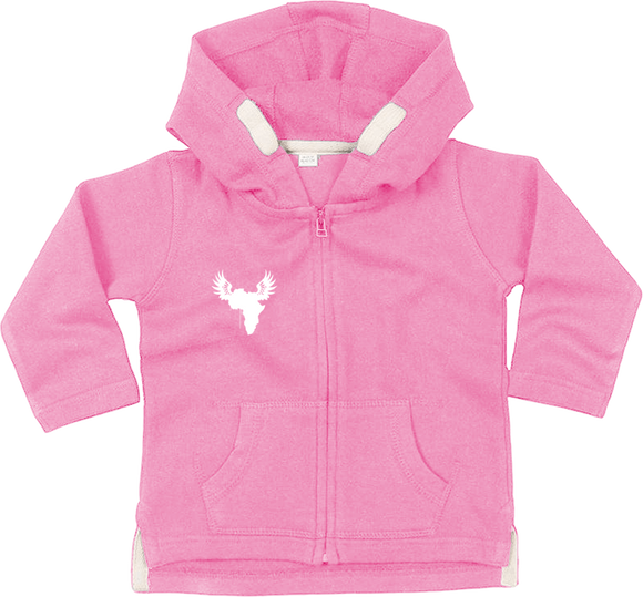 Afreeka Map - Hoddie with zip for baby