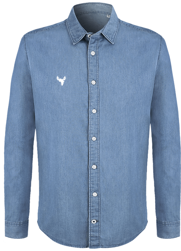 Afreeka Map - Shirt Men Denim