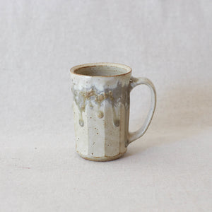 Tall Facet Mug with Ash Detail