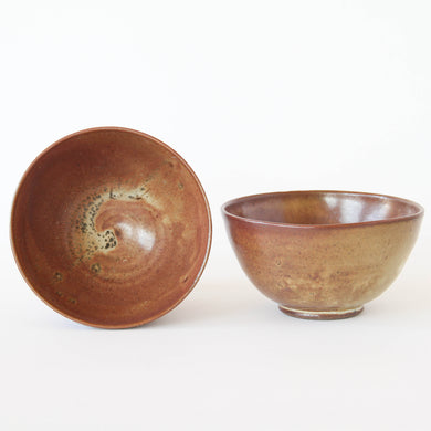 Pair of Golden + Red Bowls