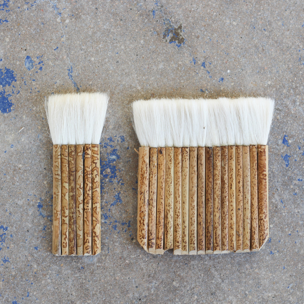 Bamboo Handle Hake Brushes