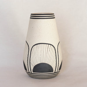 Medium Painted Vase