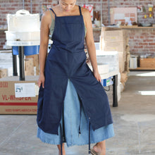 Load image into Gallery viewer, Split Leg Apron in Navy