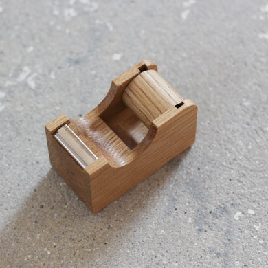 Mini Wood Tape Dispenser