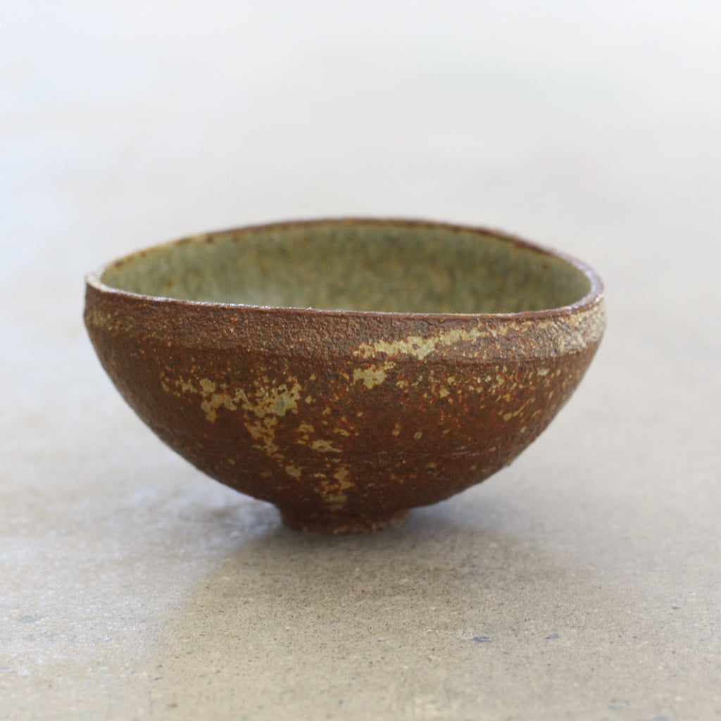 Small Bowl with Wood Ash Glaze No.3