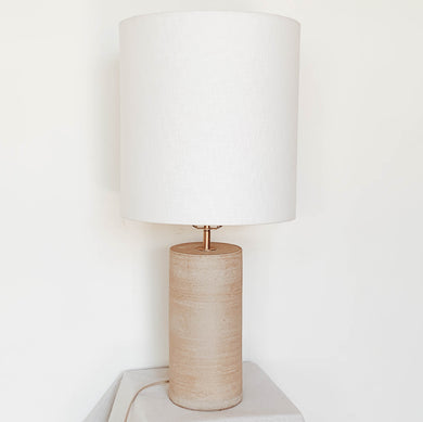 Tall Lamp - Smooth Sand Base