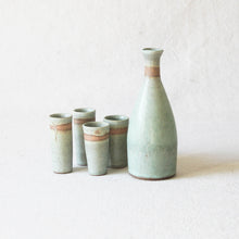 Load image into Gallery viewer, Sake Set in Turquoise