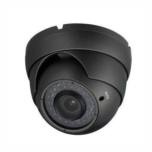 HD-CVI Armored Vari Focal Dome Camera 720p in Grey