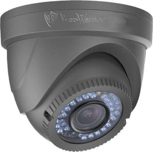 2MP HD TVI 1080P Advanced Armored Dome Camera, Vari-focal 2.8-12mm lens, Grey